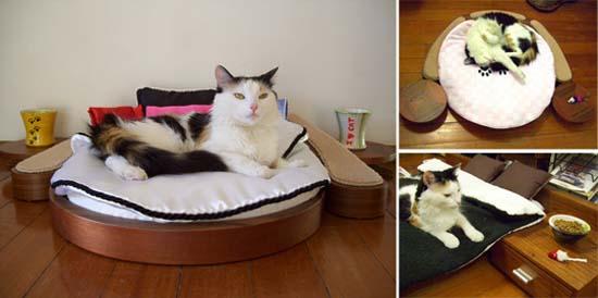 Πολυτελή έπιπλα για γάτες (3)