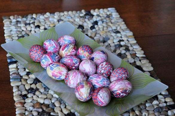 Βάψτε τα πασχαλινά αβγά χρησιμοποιώντας... γραβάτες! (10)