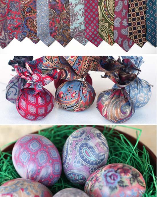 Βάψτε τα πασχαλινά αβγά χρησιμοποιώντας... γραβάτες! (17)