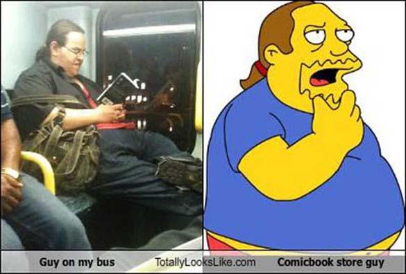 Άνθρωποι που μοιάζουν με διάσημους χαρακτήρες κινουμένων σχεδίων (12)