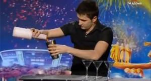 Barman… έχεις ταλέντο! (Video)