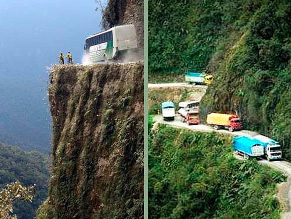 Ο δρόμος του Θανάτου στη Βολιβία (2)