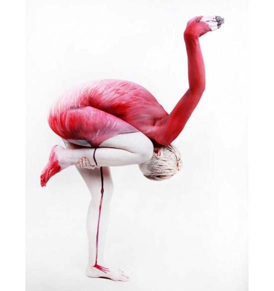 Εκπληκτικά Body-paintings από τη Gesine Marwedel (1)