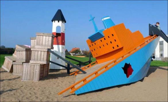 Εκπληκτικές παιδικές χαρές στη Δανία (1)