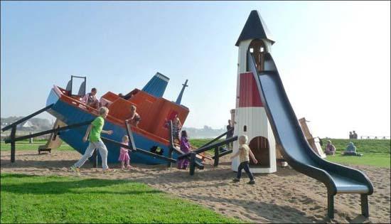 Εκπληκτικές παιδικές χαρές στη Δανία (2)