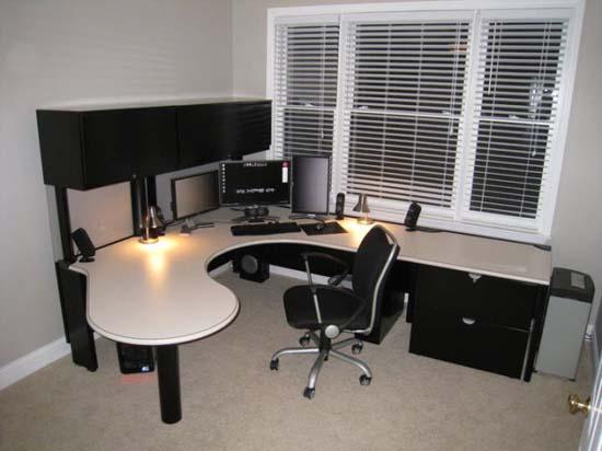 Εντυπωσιακά γραφεία στο σπίτι (3)