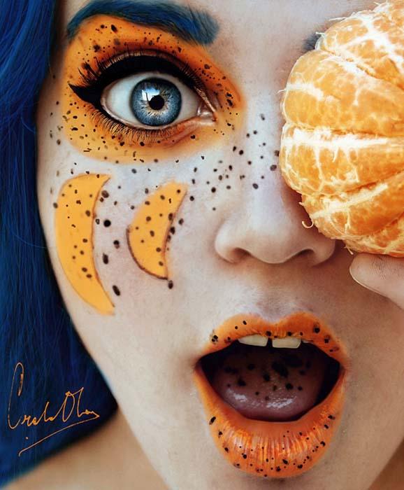 Φρουτένια πορτραίτα της 16χρονης Cristina Otero (1)