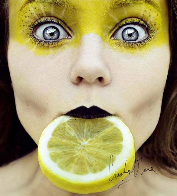 Φρουτένια πορτραίτα της 16χρονης Cristina Otero (2)