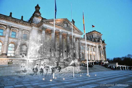 Φωτογραφίες του Β' Παγκοσμίου Πολέμου συναντούν το σήμερα (2)