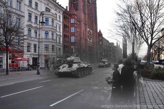 Φωτογραφίες του Β' Παγκοσμίου Πολέμου συναντούν το σήμερα (3)