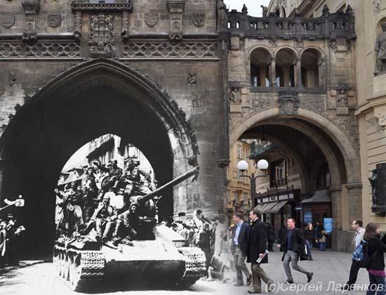 Φωτογραφίες του Β' Παγκοσμίου Πολέμου συναντούν το σήμερα (6)