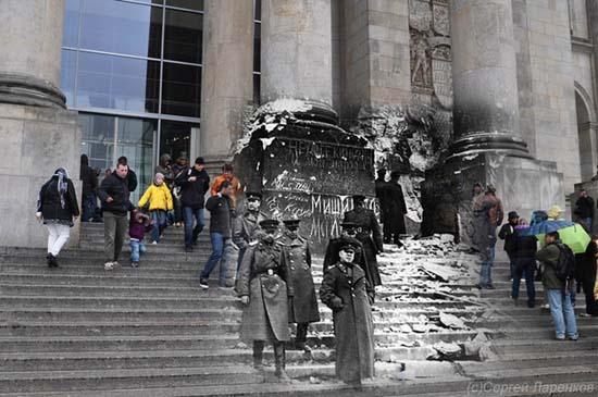 Φωτογραφίες του Β' Παγκοσμίου Πολέμου συναντούν το σήμερα (7)