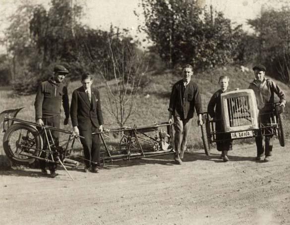 Γερμανικό αναδιπλούμενο αυτοκίνητο του 1929 (1)