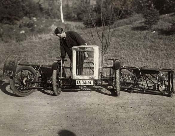 Γερμανικό αναδιπλούμενο αυτοκίνητο του 1929 (2)