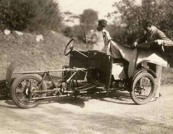 Γερμανικό αναδιπλούμενο αυτοκίνητο του 1929 (3)