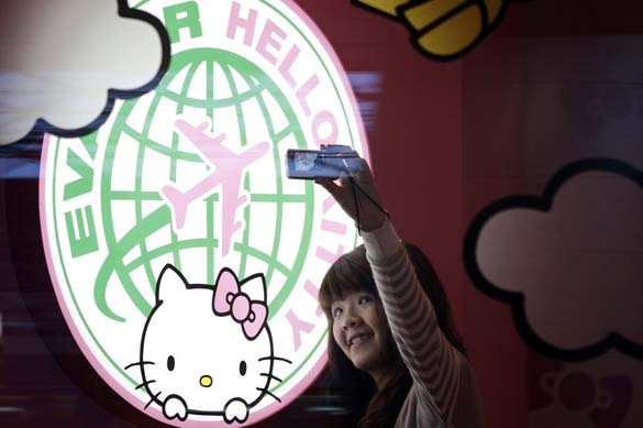 Hello Kitty Airlines (4)