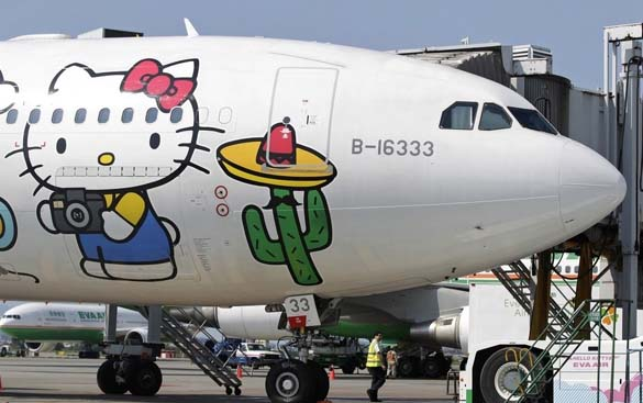 Hello Kitty Airlines (9)