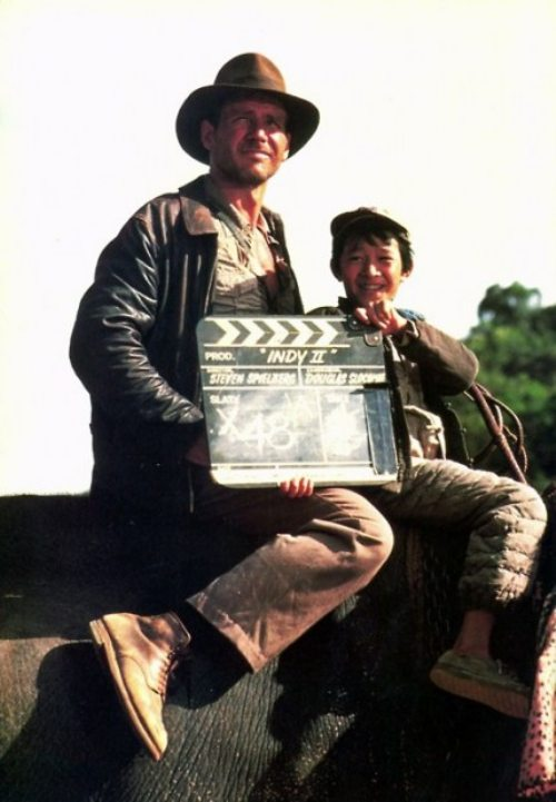 «Indiana Jones» πίσω από τις κάμερες (4)