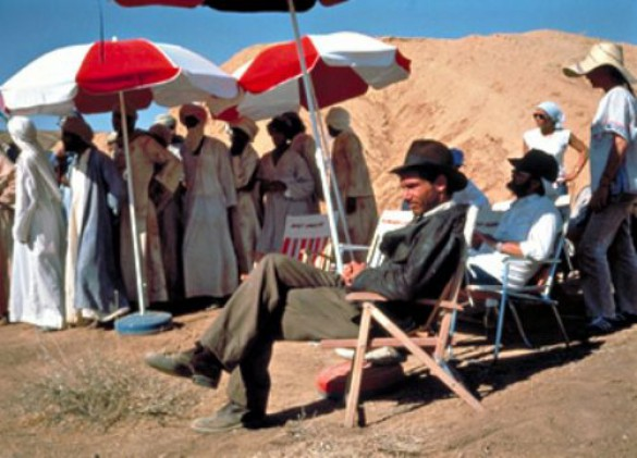 «Indiana Jones» πίσω από τις κάμερες (14)