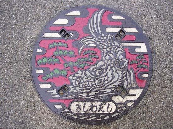 Στην Ιαπωνία τα καπάκια φρεατίων είναι αφορμή για... τέχνη! (14)