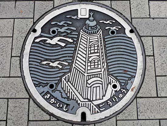 Στην Ιαπωνία τα καπάκια φρεατίων είναι αφορμή για... τέχνη! (16)