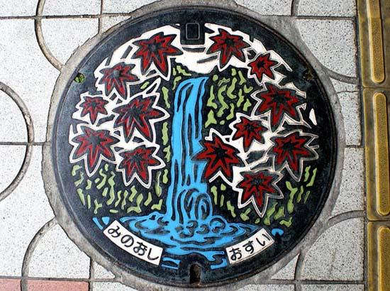 Στην Ιαπωνία τα καπάκια φρεατίων είναι αφορμή για... τέχνη! (19)