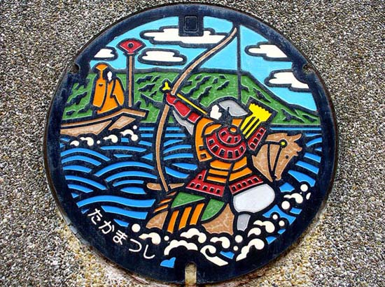 Στην Ιαπωνία τα καπάκια φρεατίων είναι αφορμή για... τέχνη! (21)