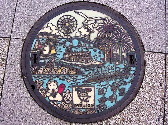 Στην Ιαπωνία τα καπάκια φρεατίων είναι αφορμή για... τέχνη! (23)