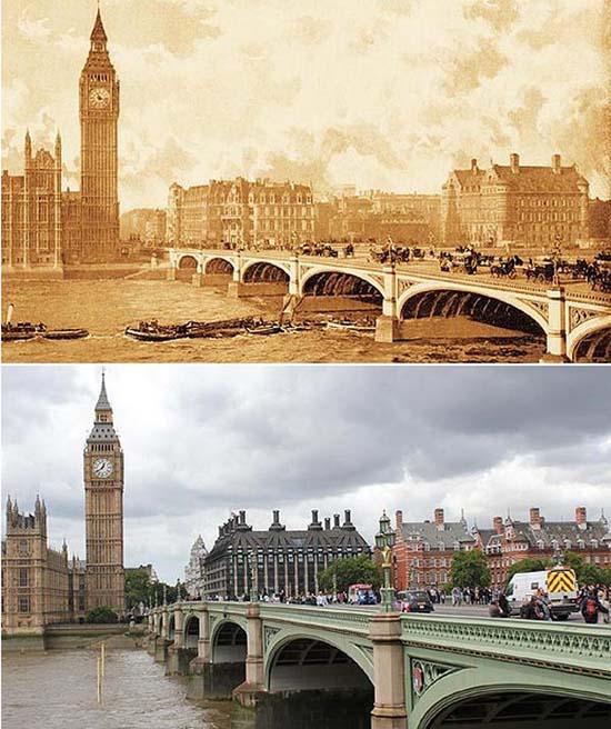 Λονδίνο: 1897 vs σήμερα (1)