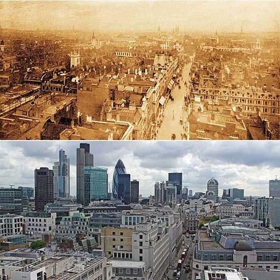 Λονδίνο: 1897 vs σήμερα (2)