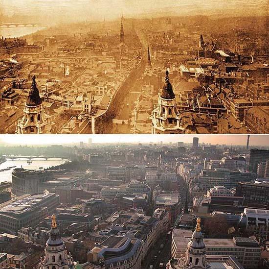 Λονδίνο: 1897 vs σήμερα (3)