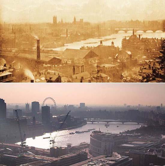 Λονδίνο: 1897 vs σήμερα (4)