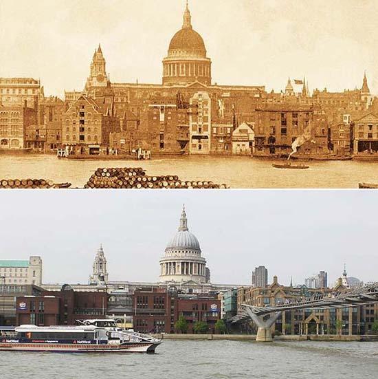 Λονδίνο: 1897 vs σήμερα (5)