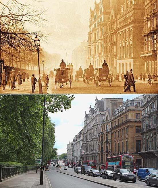 Λονδίνο: 1897 vs σήμερα (12)