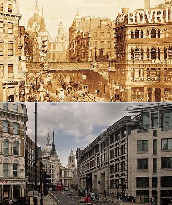 Λονδίνο: 1897 vs σήμερα (13)