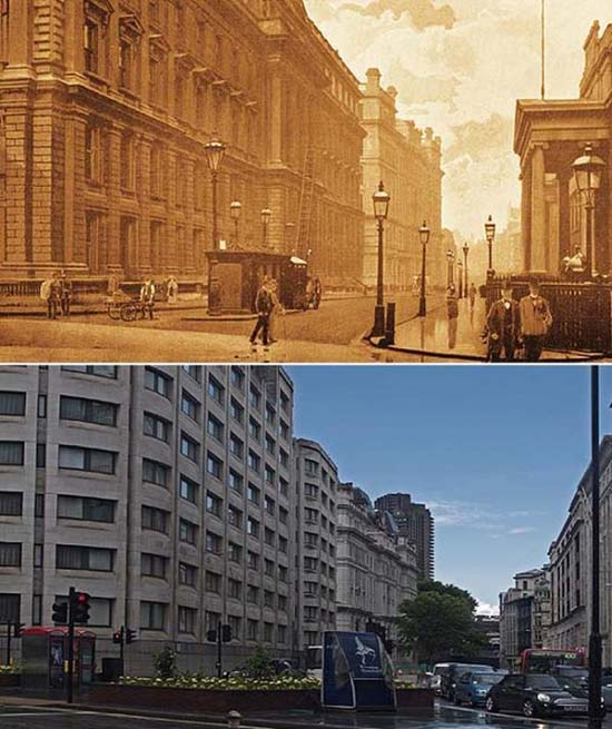 Λονδίνο: 1897 vs σήμερα (15)