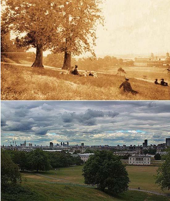 Λονδίνο: 1897 vs σήμερα (19)