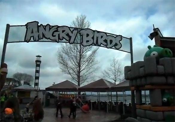 Λούνα παρκ «Angry Birds» στη Φινλανδία