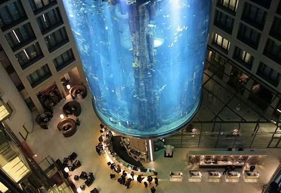 Το μεγαλύτερο κυλινδρικό ενυδρείο στον κόσμο (2)