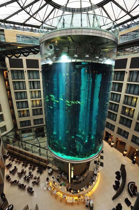 Το μεγαλύτερο κυλινδρικό ενυδρείο στον κόσμο (5)