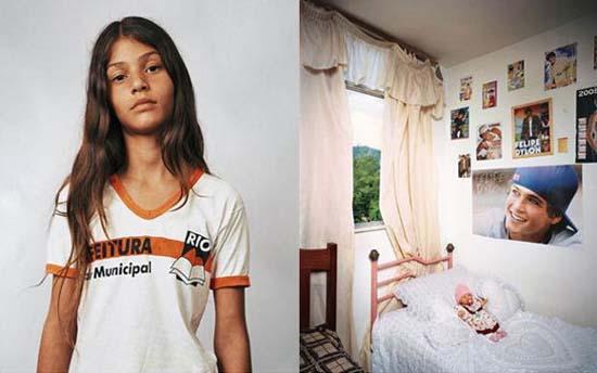 10 παιδιά απ' όλο τον κόσμο και τα υπνοδωμάτια τους (5)