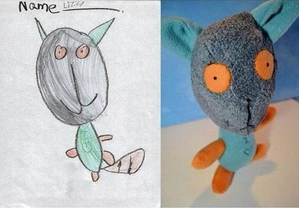 Αν οι παιδικές ζωγραφιές μετατρέπονταν σε παιχνίδια (2)