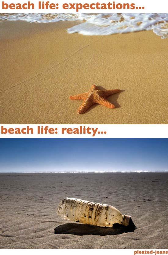 Παραλία: Προσδοκίες vs Πραγματικότητα (1)