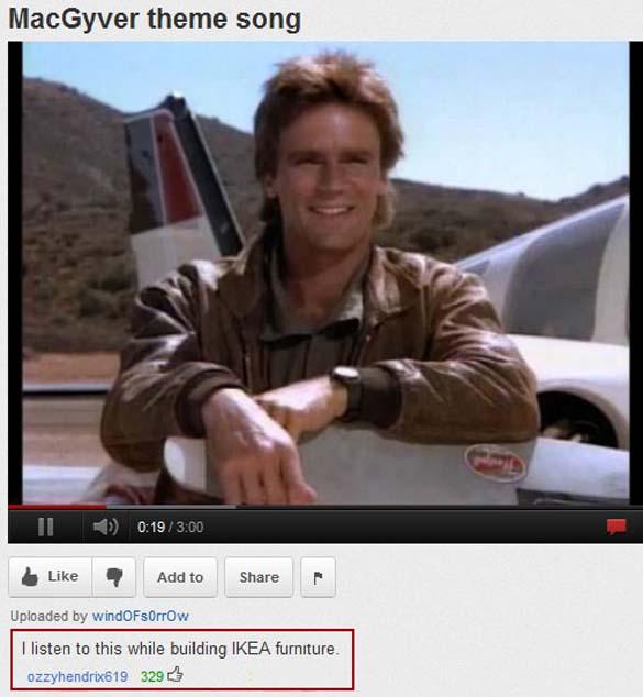 Παράξενα & ξεκαρδιστικά σχόλια στο YouTube (2)
