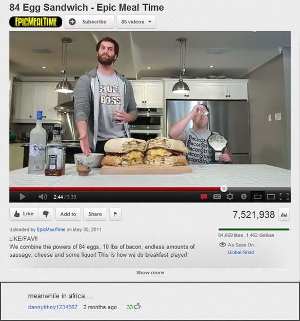 Παράξενα & ξεκαρδιστικά σχόλια στο YouTube (3)