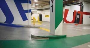 Ένα υπόγειο parking που δεν μοιάζει με τα υπόλοιπα