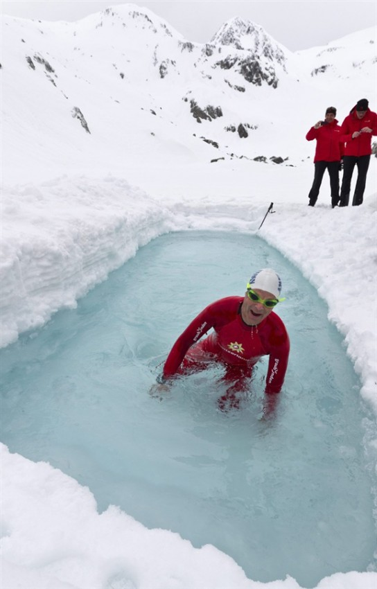 Μια prive πισίνα ψηλά στις Ελβετικές Άλπεις | Φωτογραφία της ημέρας (2)