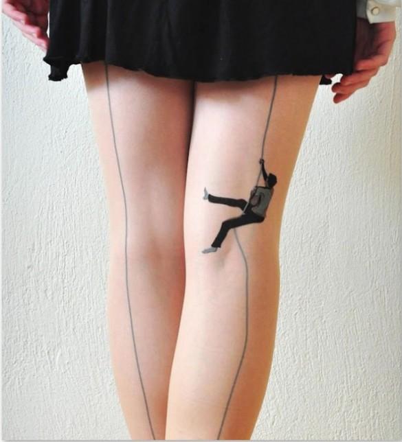 Κάτι σκαρφαλώνει στο πόδι σου | Φωτογραφία της ημέρας