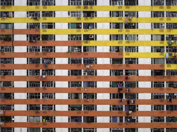 Πυκνοκατοικημένη περιοχή Hong Kong (1)