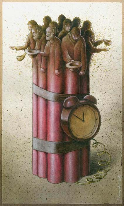 Σατυρικά illustrations που θα σας βάλουν σε σκέψεις (11)